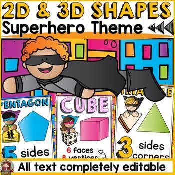 SHAPES: 2D AND 3D SHAPES