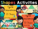 Shapes Activities BUNDLE (Spanish)