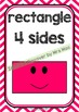 Back To School - SHAPES CHART - Classroom Decor - Posters - Chevron