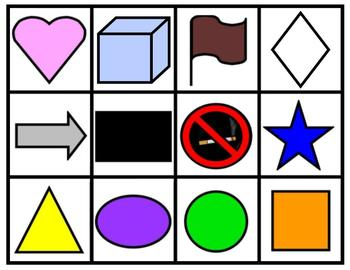 A~SPANISH~J~SHAPES COLORS AND NUMBERS in a mind bending game