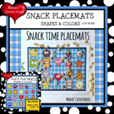 SHAPES & COLORS snacks TIC TAC TOE Speech Therapy GAME BOA