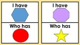 SHAPES: I HAVE...WHO HAS... - Daycare & Homeschool Resource