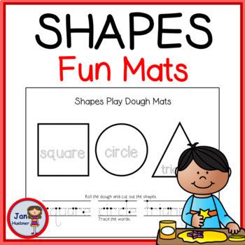 Shapes Playdough Mats  **FREE**