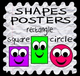 SHAPES POSTERS - EARLY YEARS, KINDERGARTEN