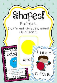 SHAPES - Posters
