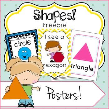 SHAPES - Posters Freebie