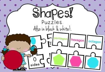 SHAPES - Puzzles