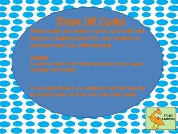 SHAPES QR Codes