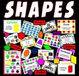 SHAPES RESOURCES - MATHS NUMERACY KS1, KS2, KS3, KS4 CLASS DISPLAY