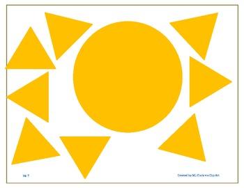 SHAPES SUN MATCH