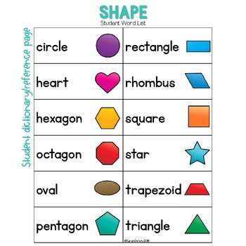SHAPES: Write the Room