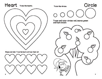 SHAPES and Colors for Beginners Booklet