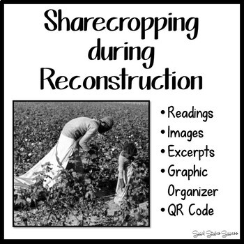 SHARECROPPING DURING RECONSTRUCTION