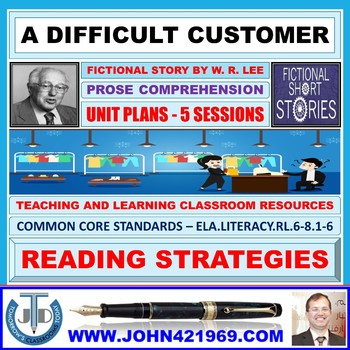 A DIFFICULT CUSTOMER - SHARING SHORT STORIES: LESSON & RESOURCES