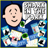 SHARK IN THE PARK STORY TEACHING RESOURCES LITERACY READING EYFS KS 1-2