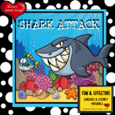 SHARK OCEAN BOOK Pre-K  Early Reader Circle