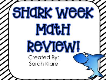 SHARK WEEK! {A Math Review}