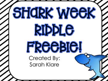 SHARK WEEK! {A Math Review FREEBIE}