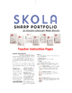 SHARP Portfolio Bundle - An interactive notebook for Middle Schoolers