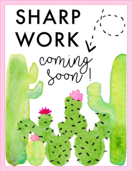 SHARP Work Coming Soon! Posters