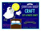 COUNTING Sheep / Lamb & Bed Craft