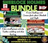 Sherlock Holmes ESL Unit and Game MINI BUNDLE