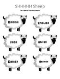 SHHH Sheep - Final SH Articulation Practice