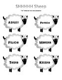 SHHH Sheep - Medial SH Articulation Practice