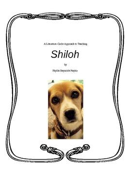 SHILOH Full Literature Circle Unit