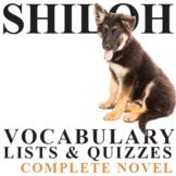 SHILOH Vocabulary Complete Novel (45 words)