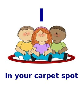 SHINE Carpet Expectations