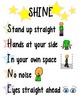 SHINE Classroom Management Poster (color)