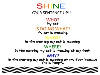 SHINE Up Your Sentences