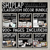 FARMHOUSE SHIPLAP SHABBY CHIC - Decor Bundle Featuring 800