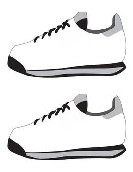 Terry Fox Running Shoe Template
