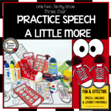 SHOES SPEECH ARTICULATION  worksheets EASY PREP NO PREP YE