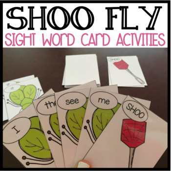 SHOO FLY Sight Words: ALL 220 DOLCH SIGHT WORDS!