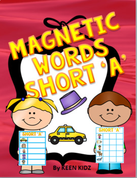 SHORT A MAGNETIC WORDS