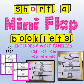 SHORT A MINI FLAP BOOKLETS