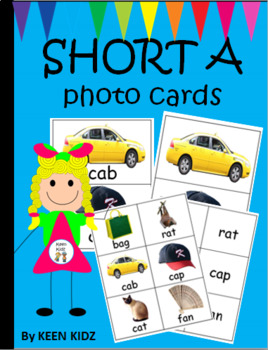 SHORT A PHOTO CARDS