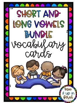 SHORT AND LONG VOCABULARY CARDS BUNDLE