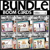 Boom Cards Distance Learning | SHORT AND LONG VOWEL PRACTI