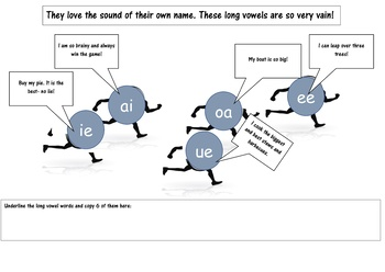 SHORT AND LONG VOWELS PACKAGE