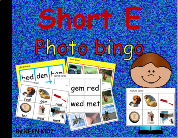SHORT E PHOTO BINGO