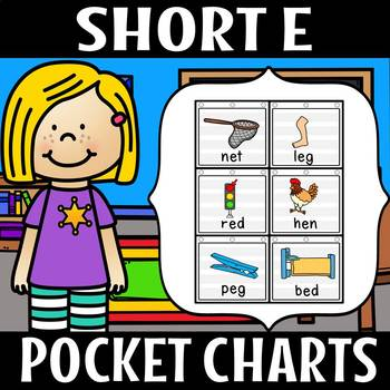 SHORT E POCKET CHART
