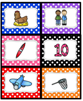 SHORT E  RHYMING CARDS (Sorting/matching/memory)