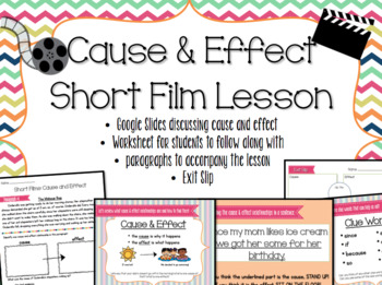 SHORT FILM BUNDLE! - THREE FUN back to school lessons