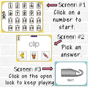 SHORT I Digital Task Cards
