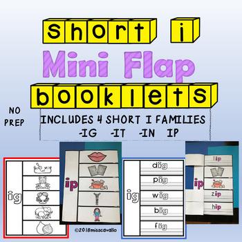 INTERACTIVE SHORT I WORD FAMILY BOOKS