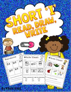 SHORT I READ, DRAW, WRITE